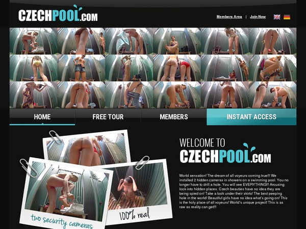 Join Czech Pool Paypal