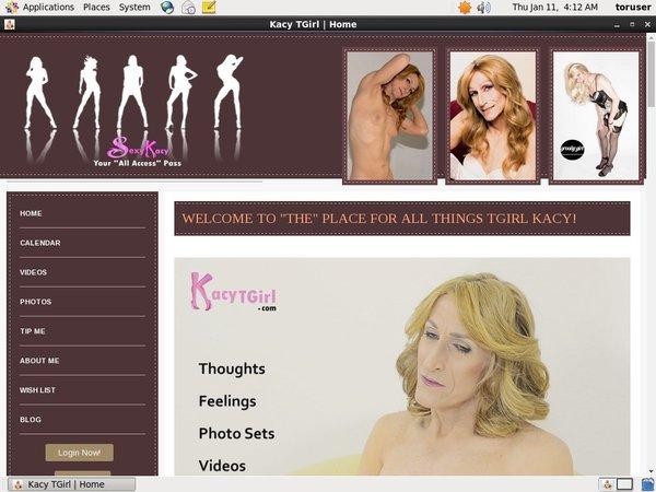 Login To Kacytgirl.com Free