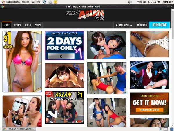 Crazy Asian GFs Passwords Blog