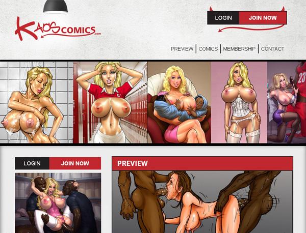 Kaos Comics Free Premium Accounts