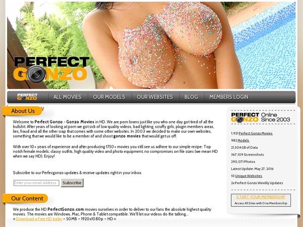 Perfectgonzo.com Pago