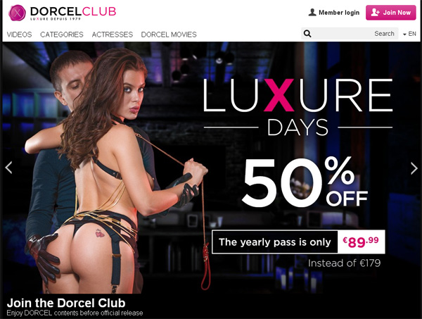 Using Paypal Dorcel Club