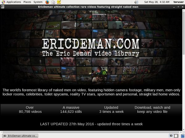 Acc For Eric Deman