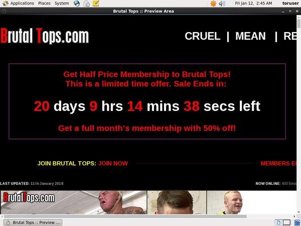 Brutaltops Discount Link Code