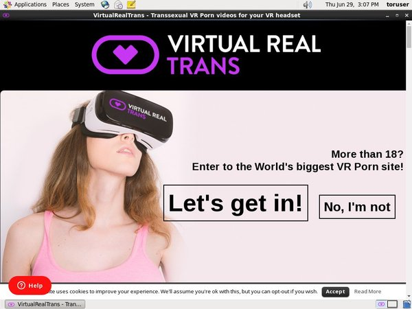 Virtual Real Trans Passwords 2019