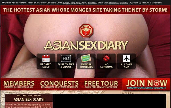 Asian Sex Diary Trial Discount Offer