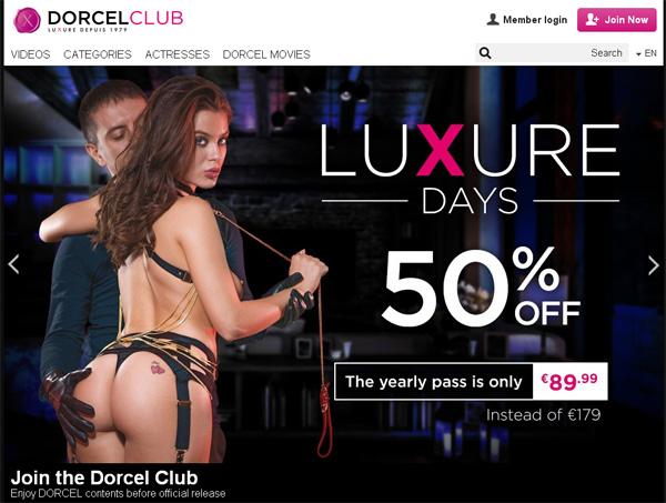 Dorcel Club Website Password