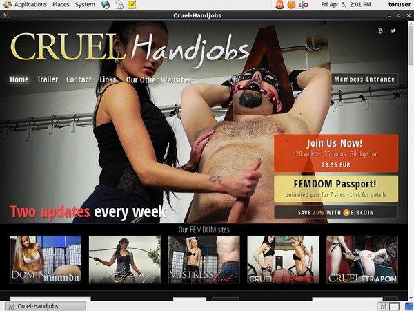 Cruel Handjobspassword