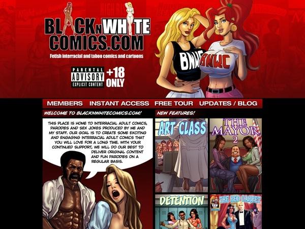 Black N White Comics Discount Off
